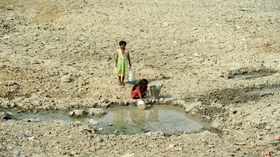 الجفاف يضرب ولايات شمال الهند
