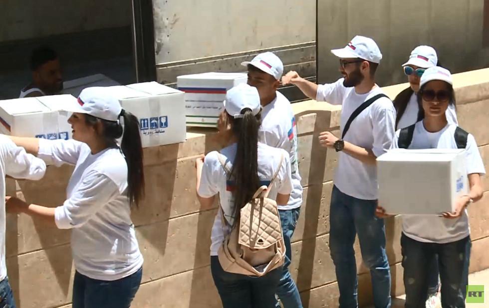 إنغوشيا الروسية ترعى فعالية خيرية في حماة السورية بمناسبة عيد الفطر
