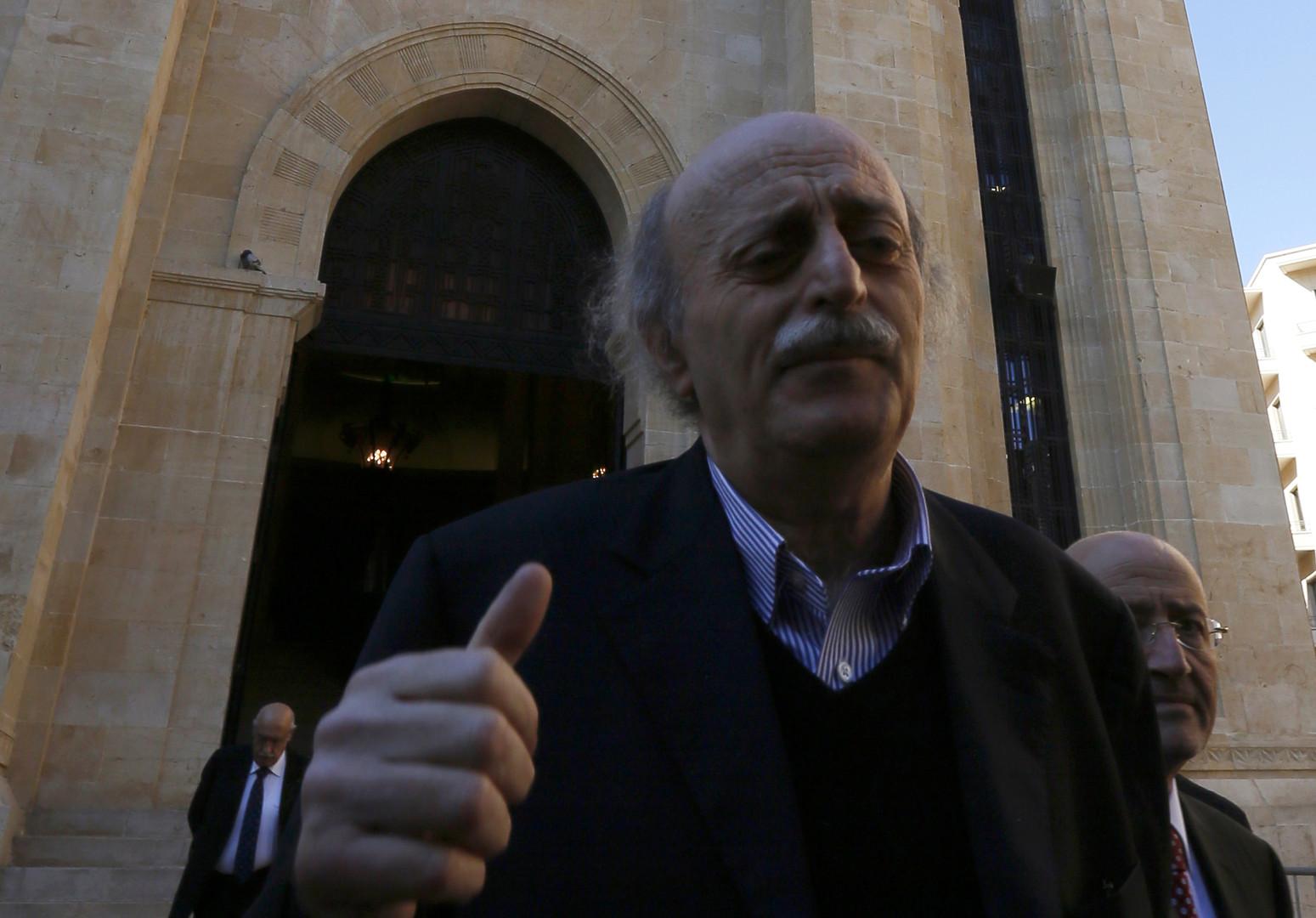 رئيس الحزب الاشتراكي اللبناني وليد جنبلاط-أرشيف