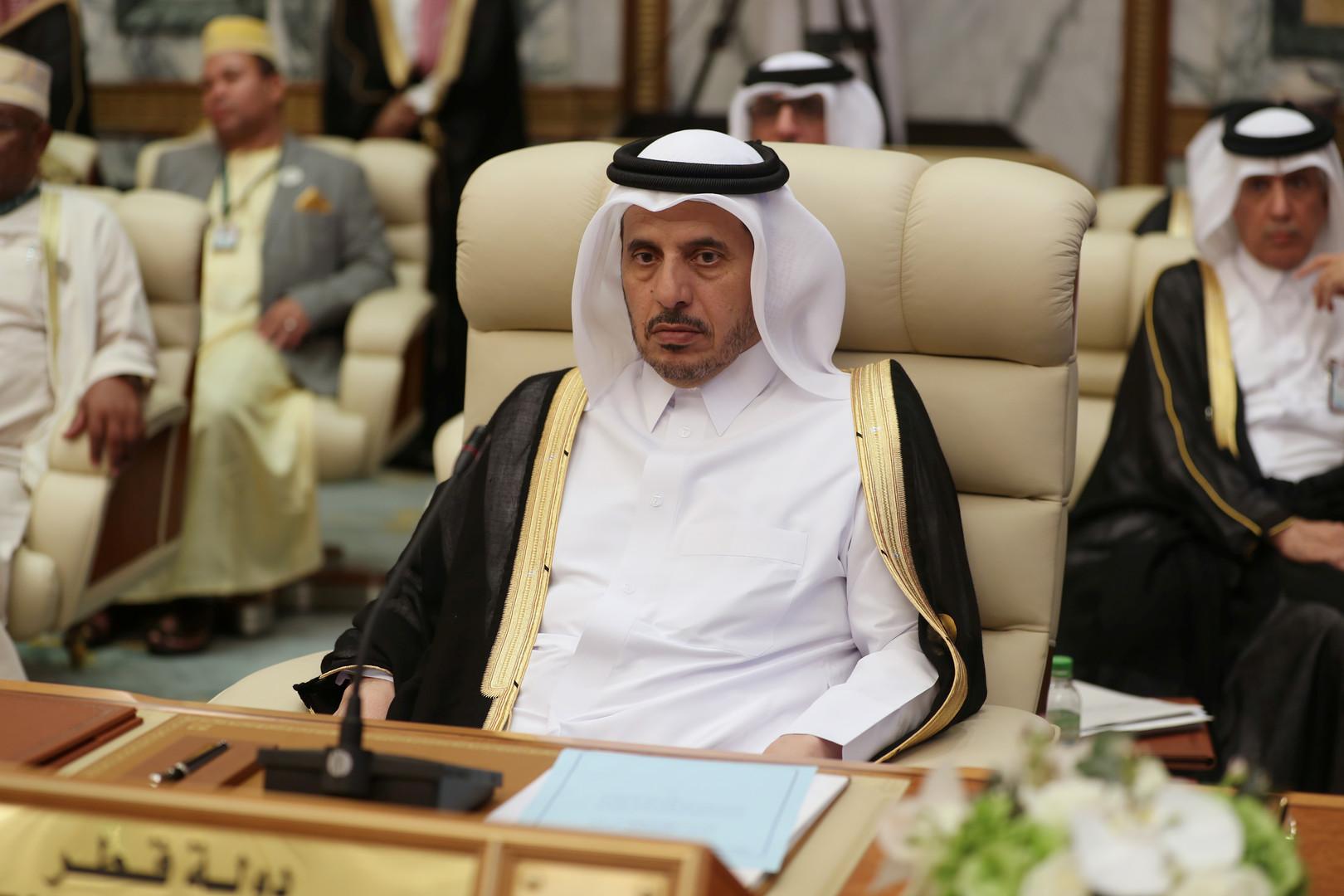 أول تعليق لرئيس الوزراء القطري بعد مشاركته في قمم مكة الثلاث!