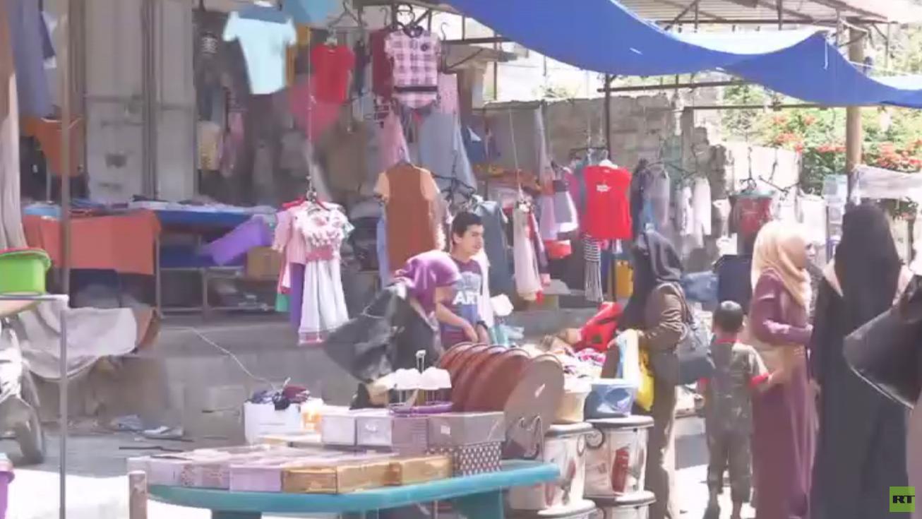 أزمة غزة الاقتصادية وخسائر عيد الفطر