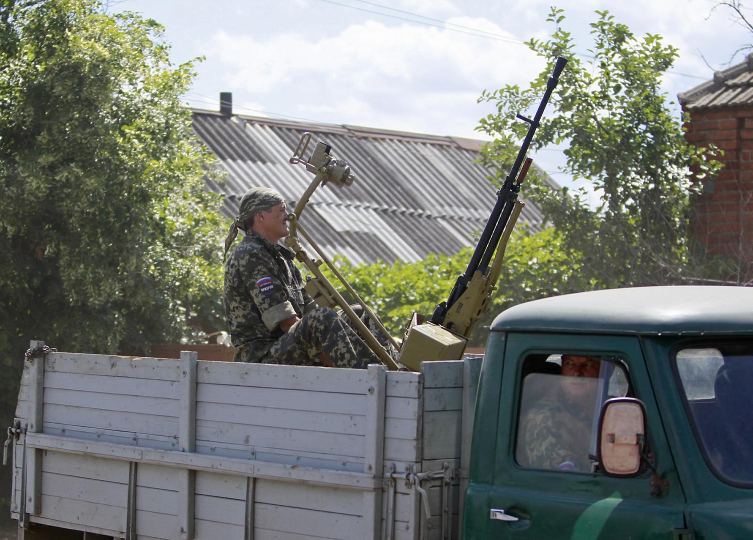 سلطات دونيتسك تحبط عملا إرهابيا كان يستهدف صلاة عيد الفطر