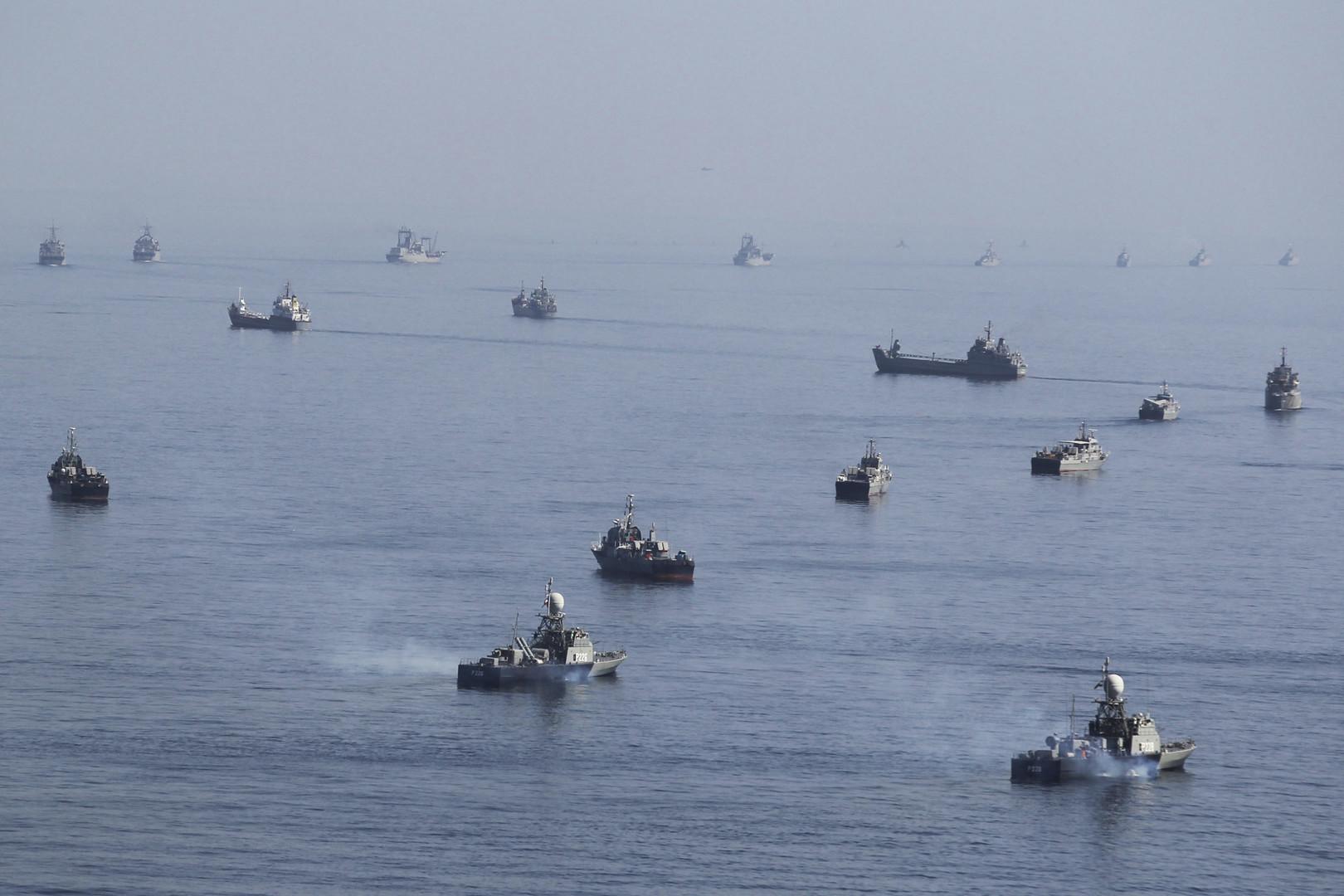 مناورات بحرية إيرانية