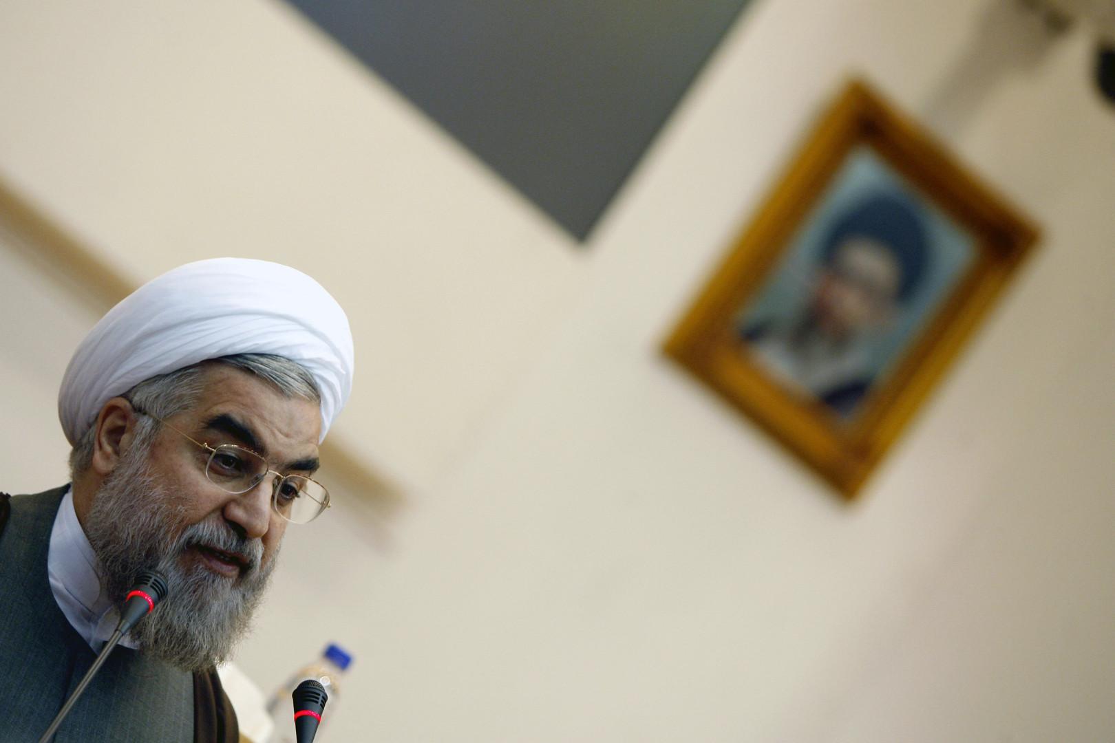 الرئيس الإيراني حسن روحاني- أرشيف