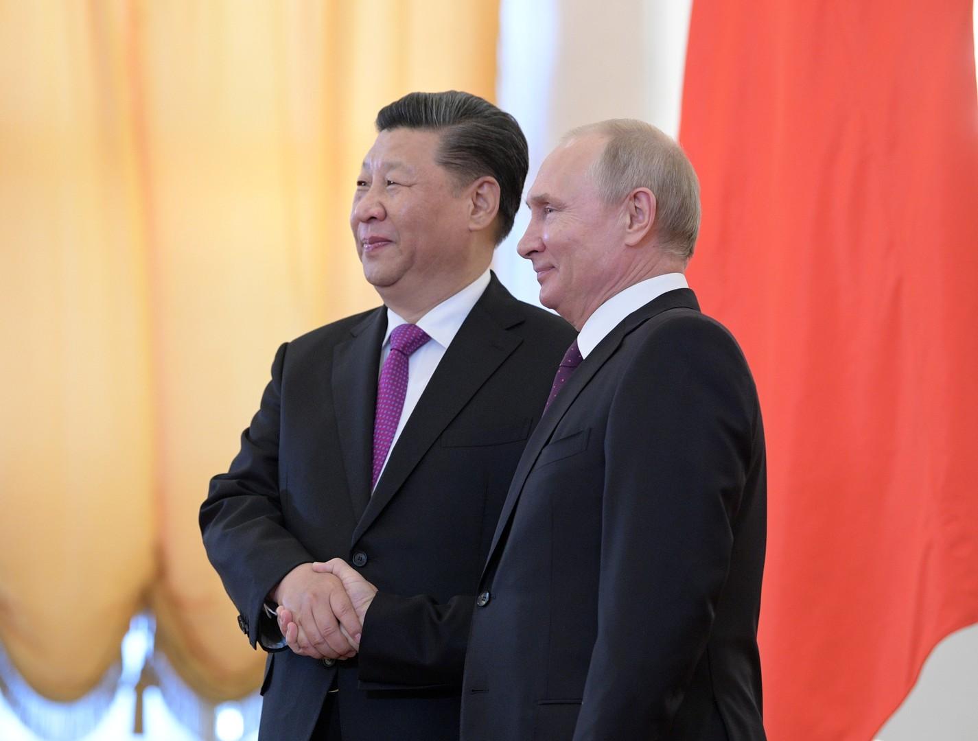 بوتين يؤكد بعد محادثات مع شي جين بينغ تطابق مواقف روسيا والصين حول أهم القضايا الدولية