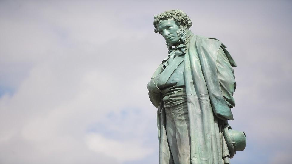 تمثال ألكسندر بوشكين في موسكو