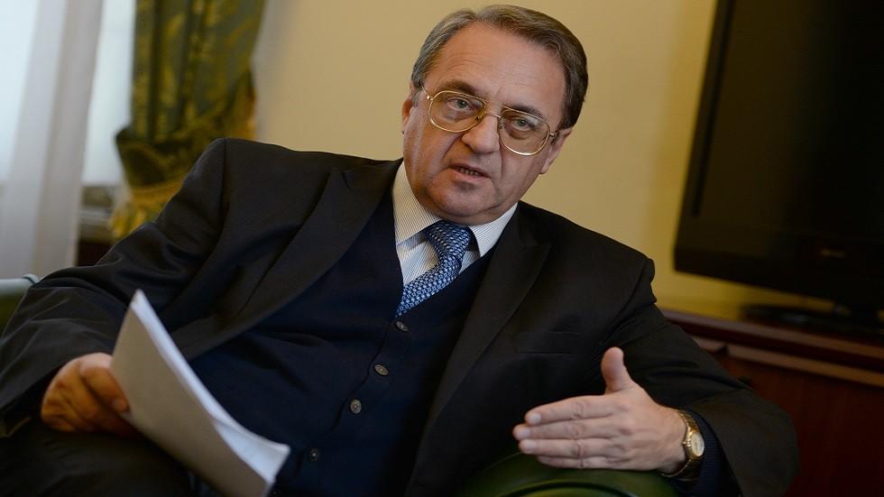 نائب وزير الخارجية الروسي ميخائيل بوغدانوف (صورة أرشيفية)