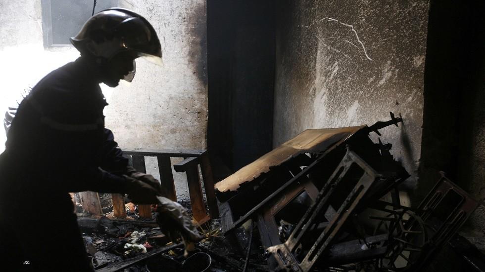 رجل إطفاء جزائري