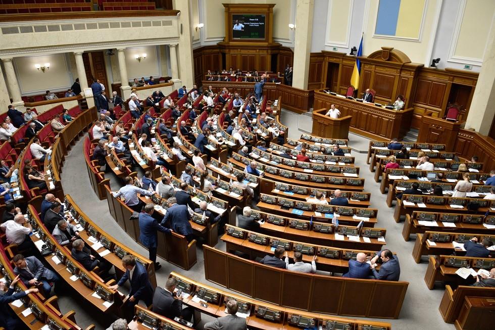 البرلمان الأوكراني يرفض إقالة وزيري الخارجية والدفاع ومدير المخابرات