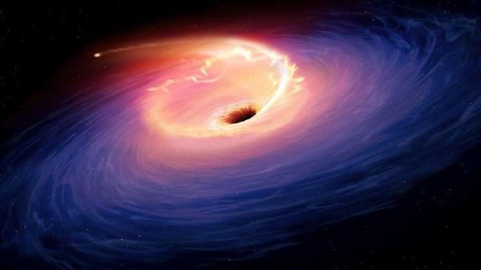 صورة تعبيرية لثقب أسود