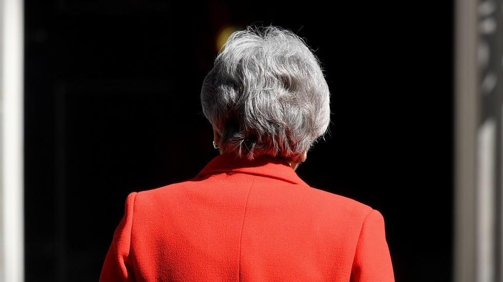 ماي تستقيل من رئاسة حزب المحافظين