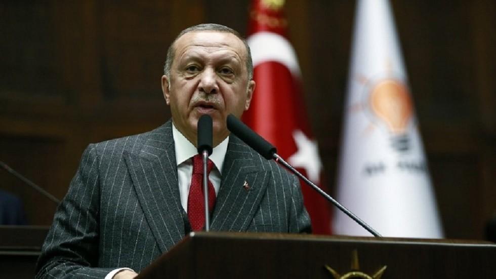 أردوغان: أبناء جلدتنا في شمال قبرص لهم حقوق في شرق المتوسط ولن نسمح لأحد بسلبها