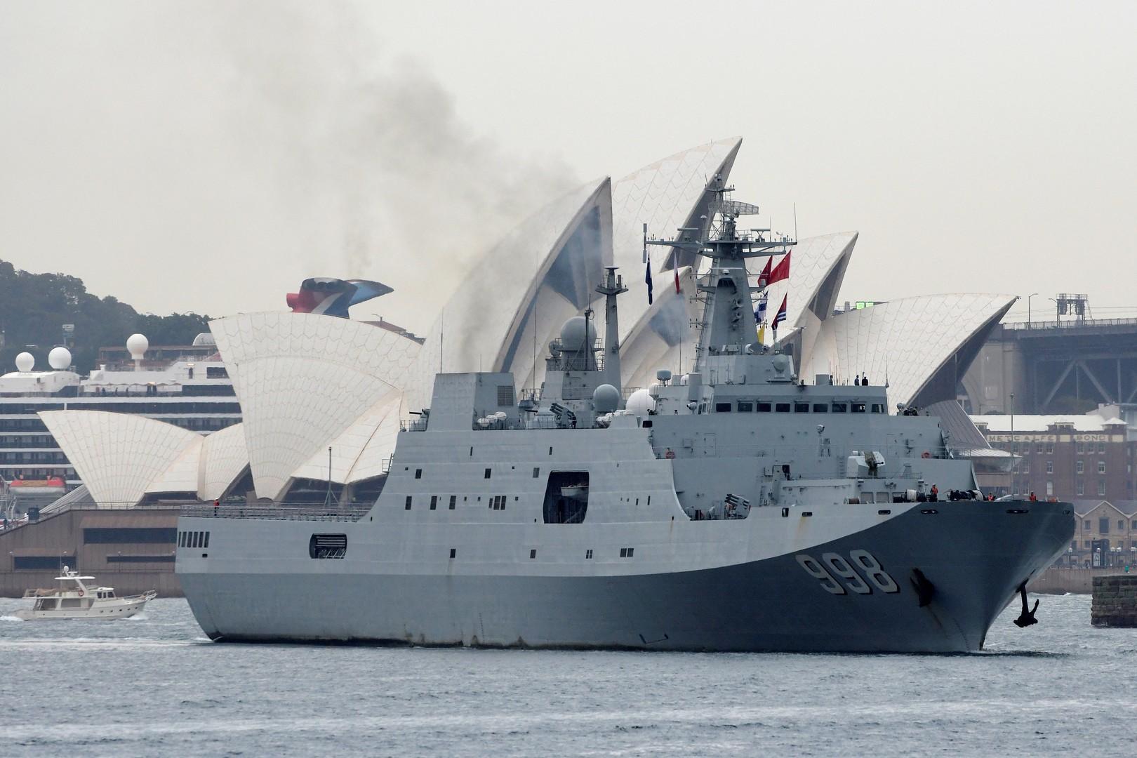 سفن حربية صينية في سيدني تثير غضب الأستراليين