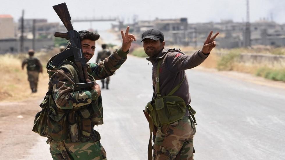 الجيش السوري يتقدم في ريف حماة