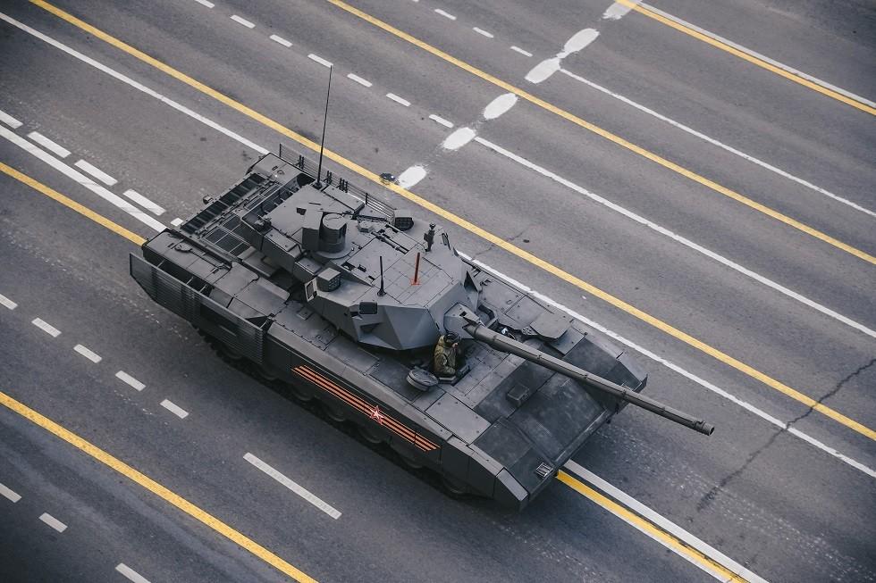 الدبابة الروسية الحديثة
