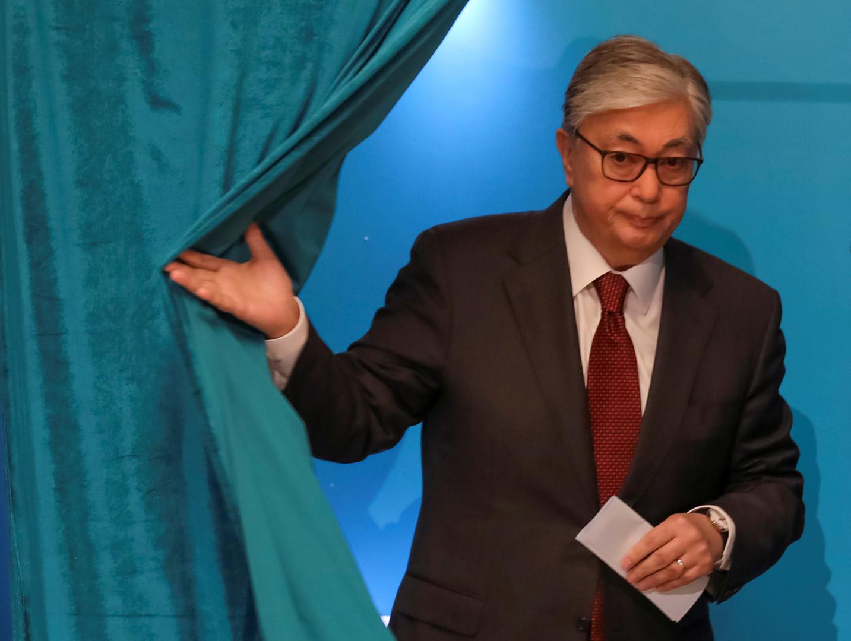 كازاخستان: فوز توكايف في الانتخابات الرئاسية