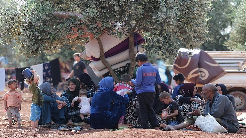 نازحون في ريف إدلب