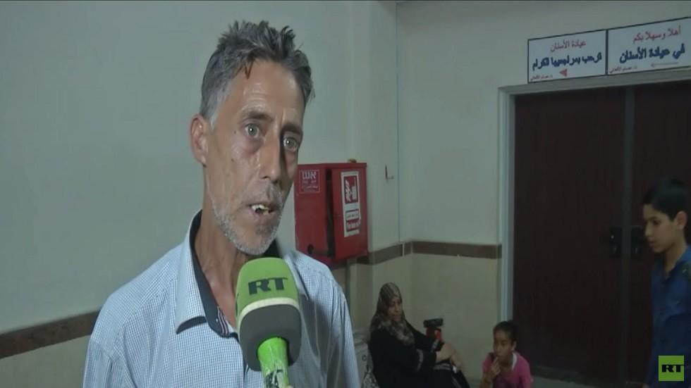اعتصام لعائلات دمرت منازلها في حرب غزة