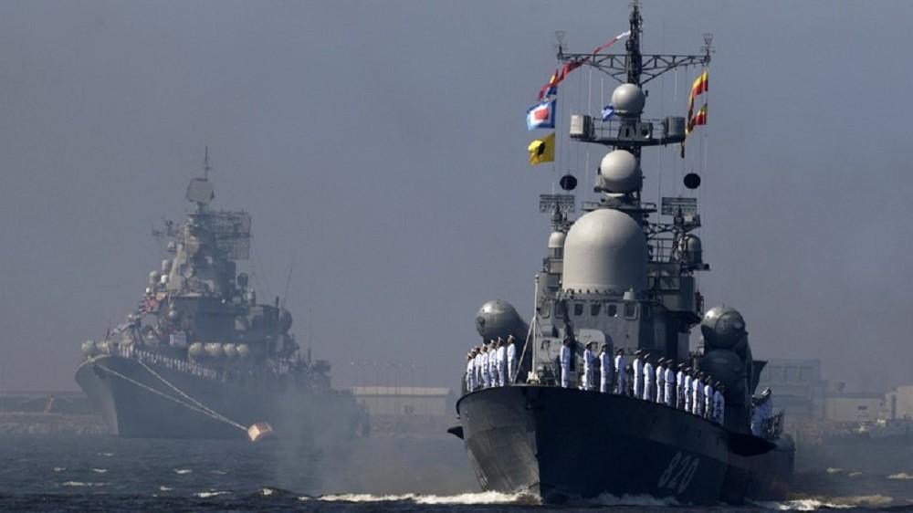 الأسطول الروسي يراقب مناورات الناتو في البلطيق