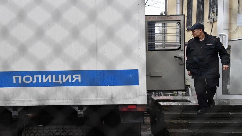 صورة أرشيفية لمدخل محكمة روسية