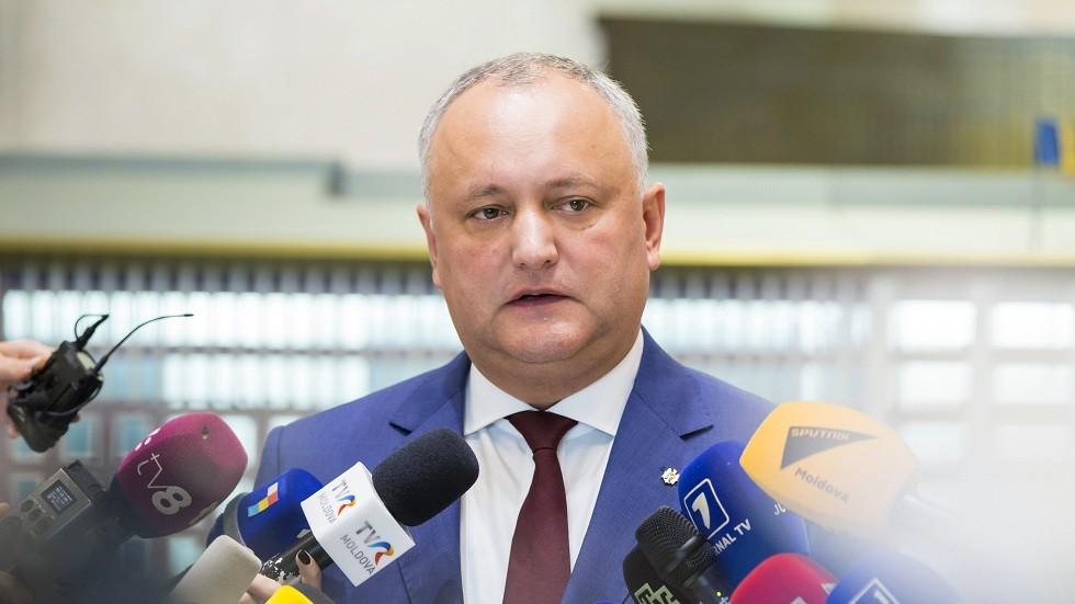 رئيس مولدوفا يكشف عن مخطط لاغتياله