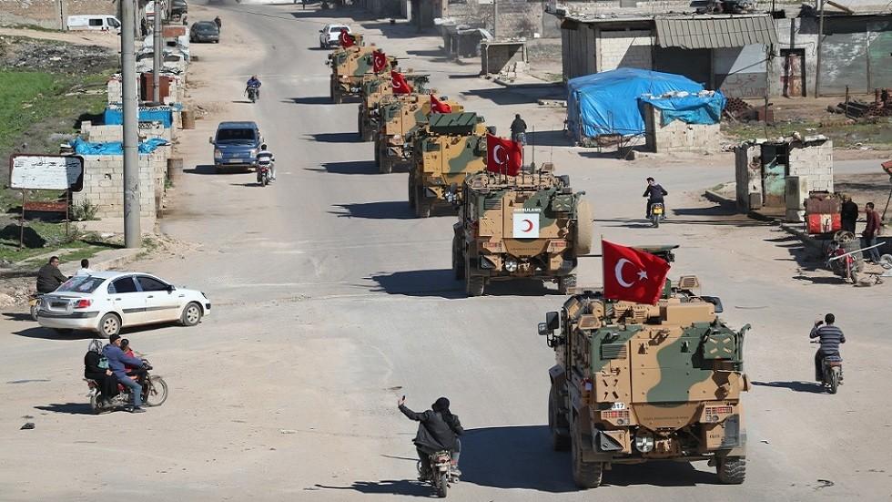 رتل للقوات التركية في إدلب