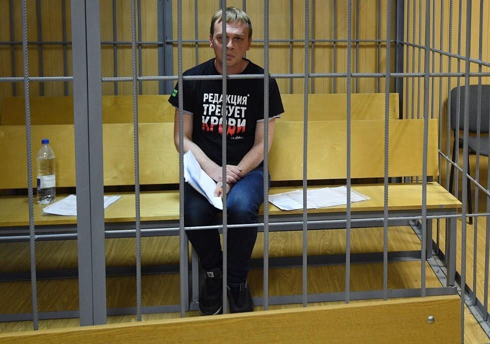 إغلاق القضية الجنائية المدوية ضد الصحفي غولونوف