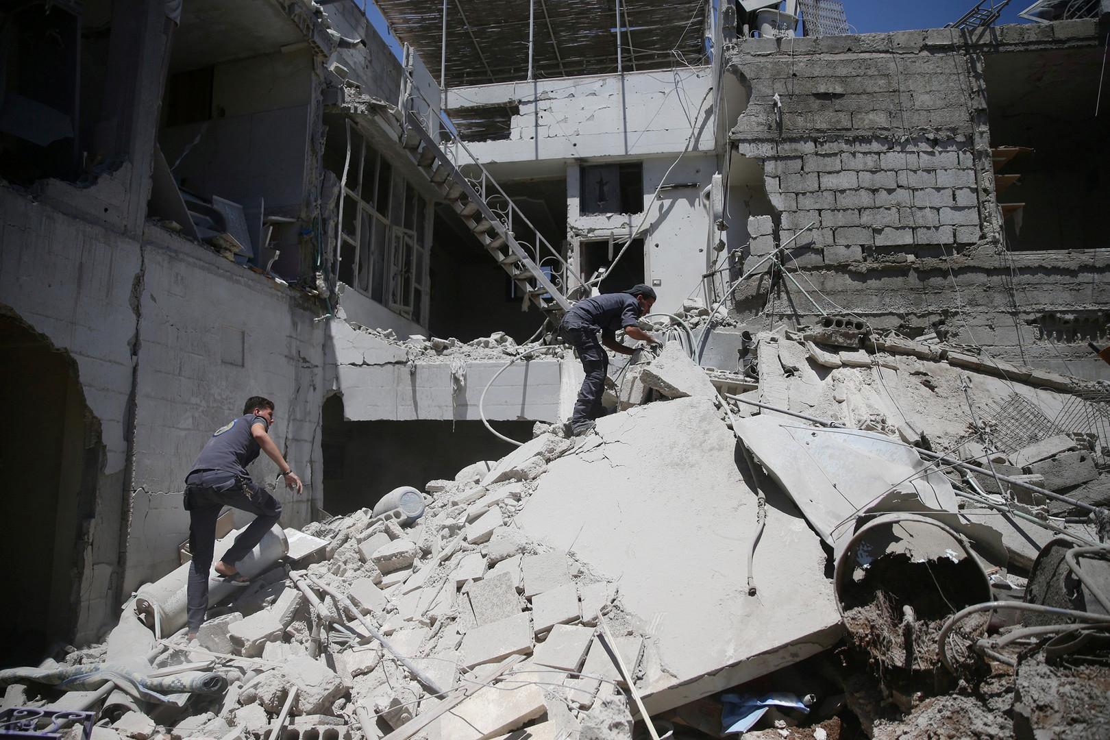 الحرب السورية - صورة أرشيفية
