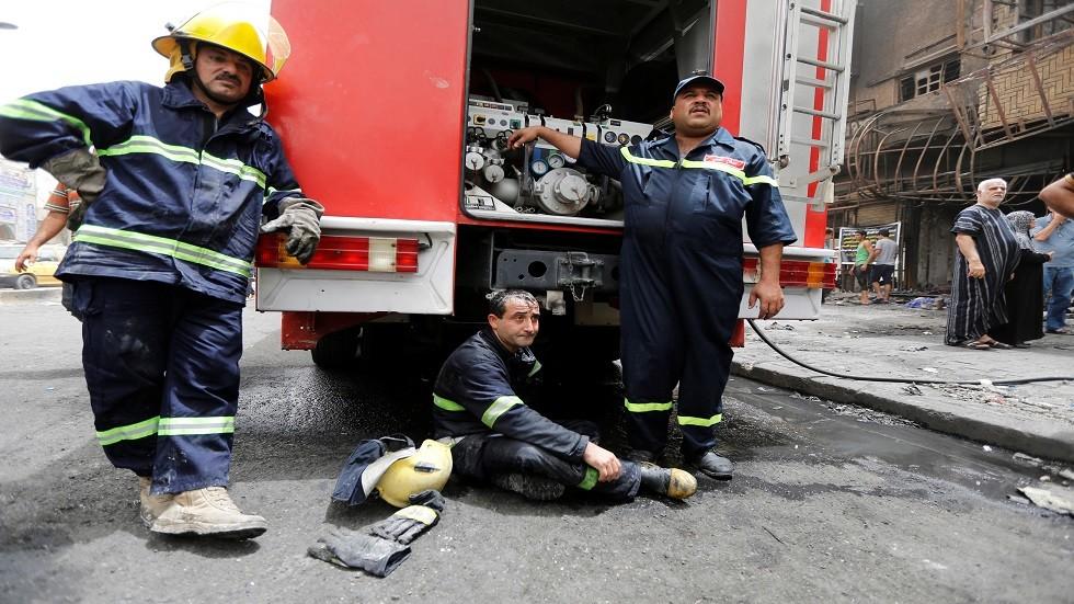 بسبب استمرار الحرائق.. سياسي عراقي يطالب الحكومة بتسليم جهاز المخابرات
