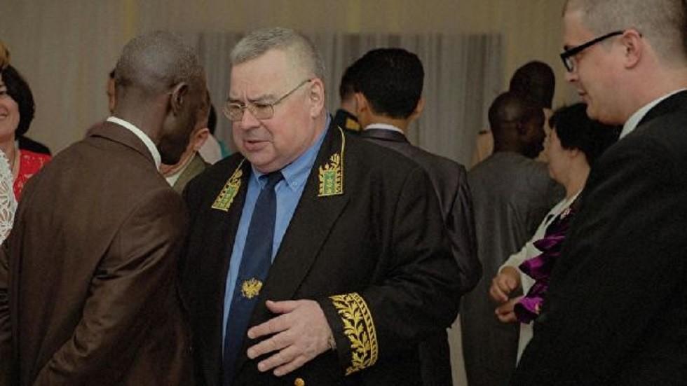 موسكو تنعي سفيرها في السنغال