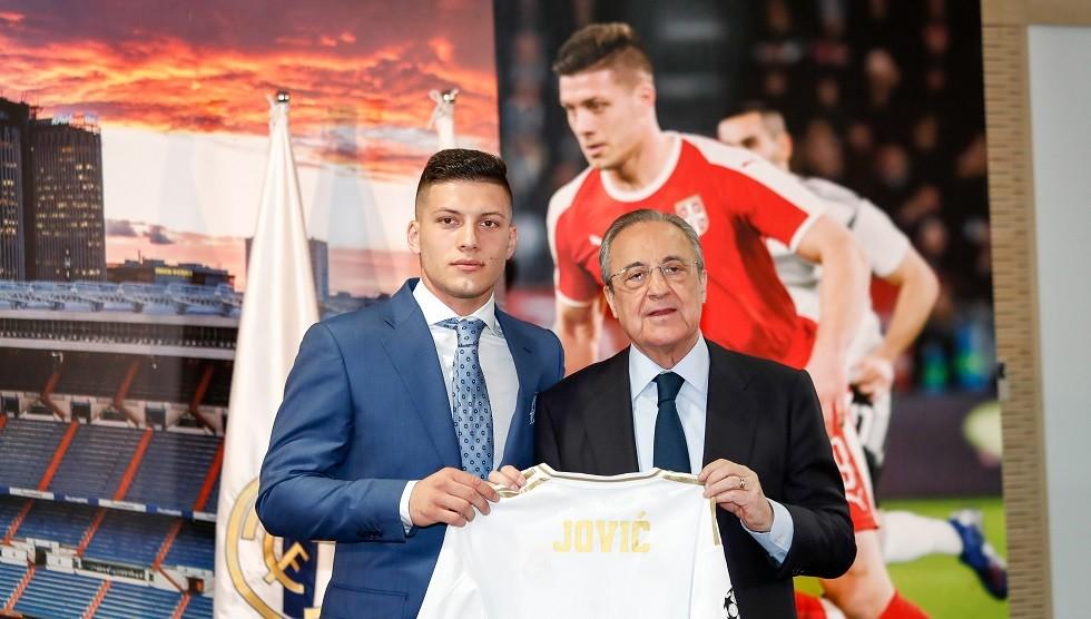 شاهد.. ريال مدريد يقدم لاعبه الجديد لوكا يوفتش
