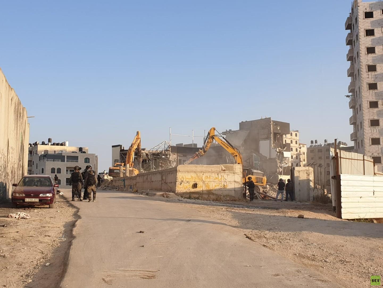 عمليات الهدم الإسرائيلية في مخيم قلنديا