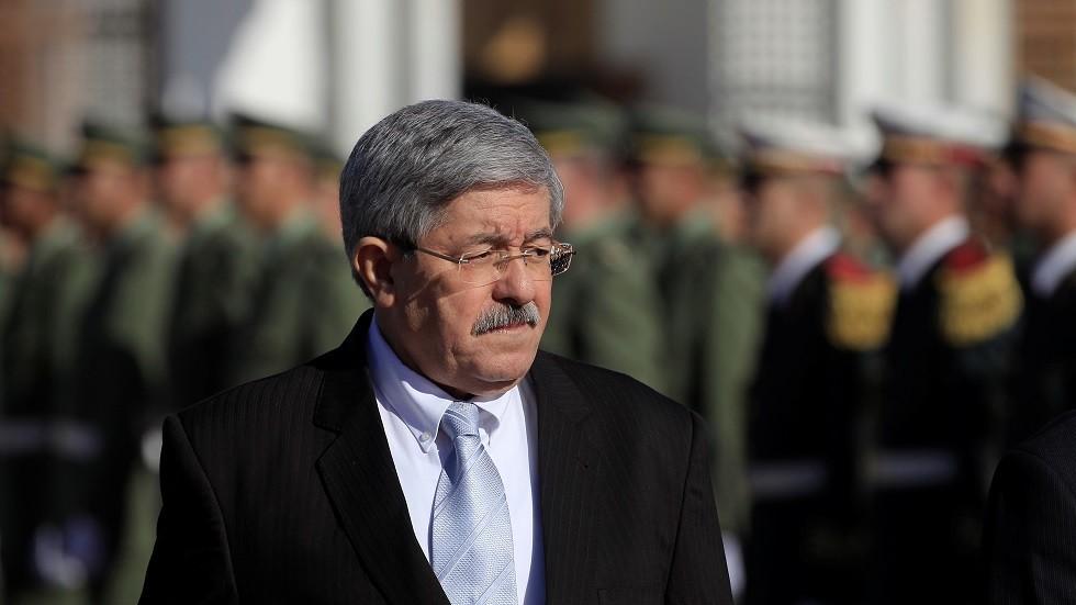 رئيس الوزراء الجزائري السابق أحمد أويحيى