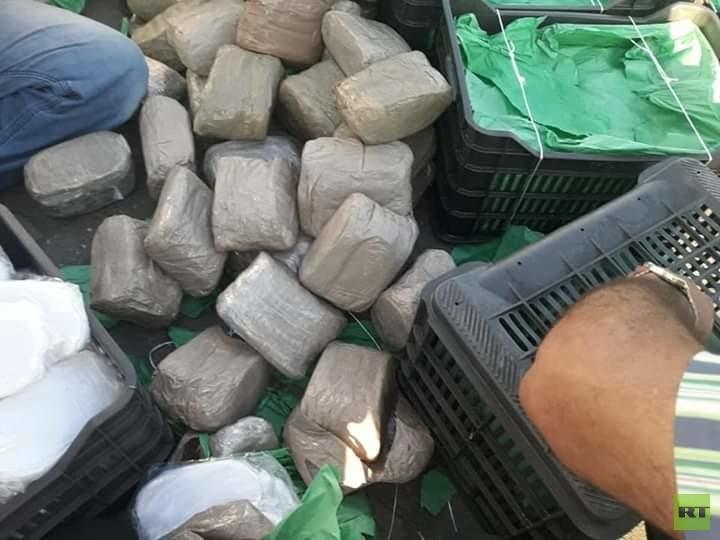 مصر.. ضبط كميات من الحشيش وأقراص الكبتاغون المخدرة (صور)