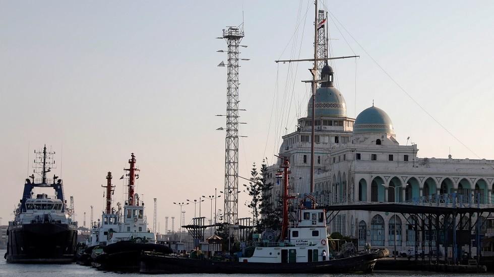 ميناء بور سعيد في مصر - أرشيف