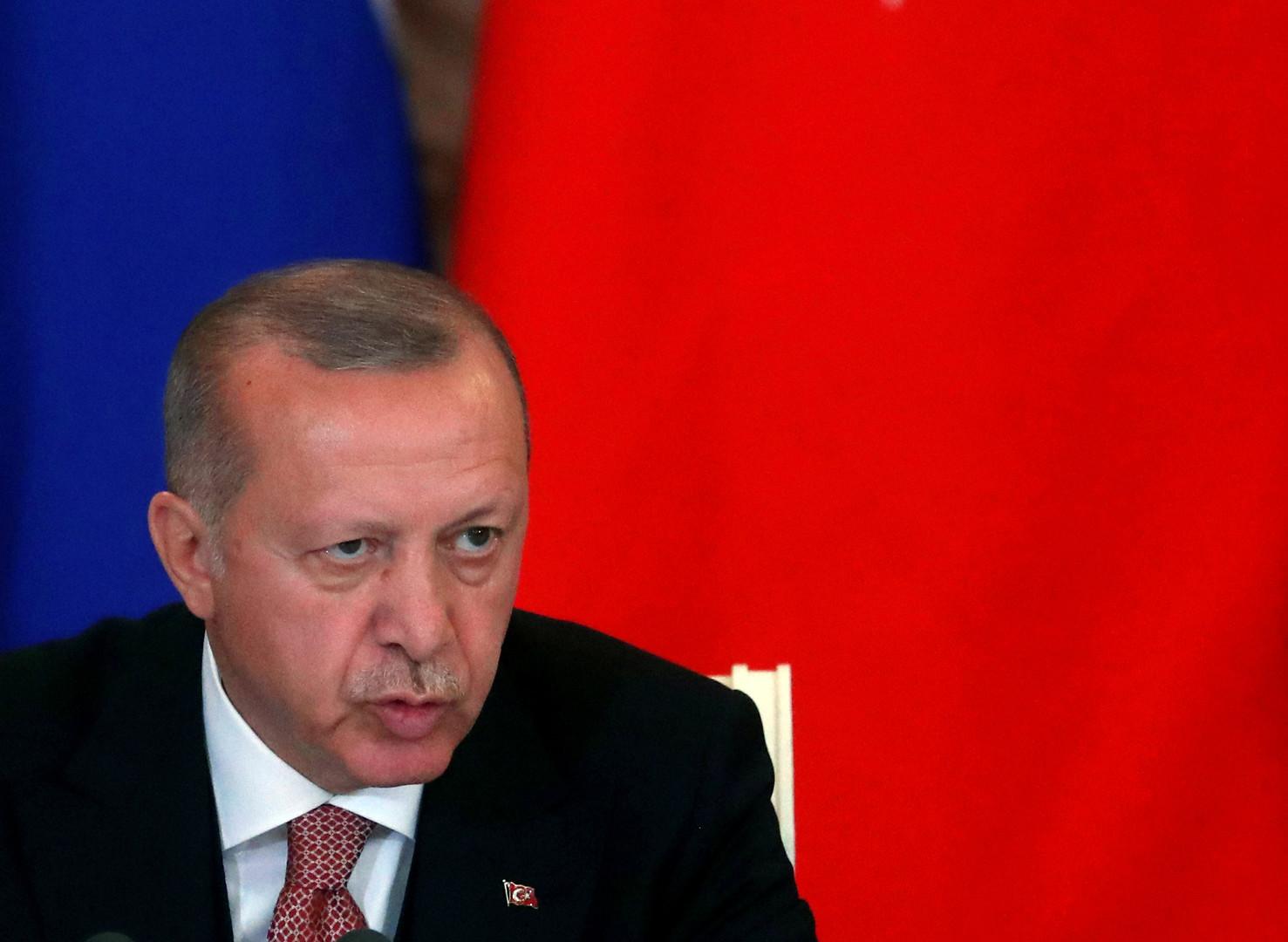 أردوغان: سنستلم