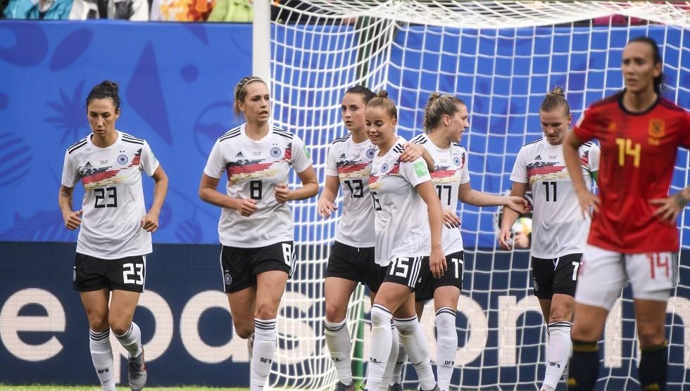 ألمانيا تفوز على إسبانيا بشق الأنفس في مونديال السيدات (فيديو)