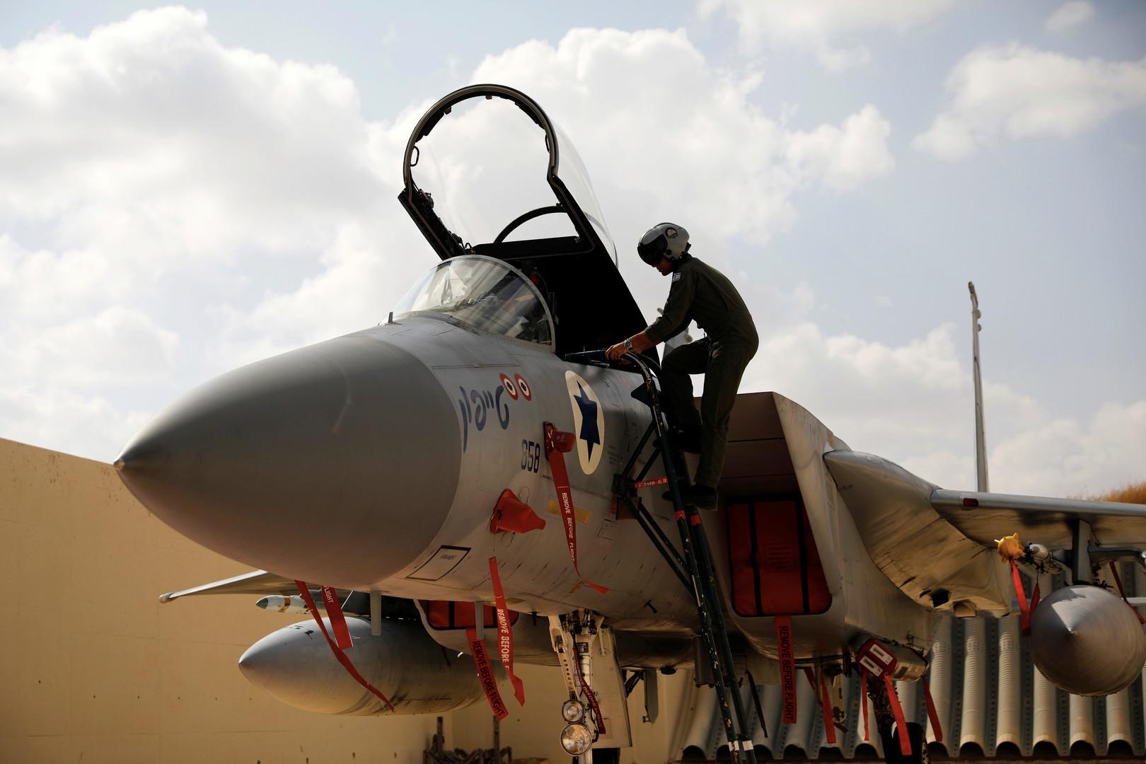 الطيران الإسرائيلي يغير على غزة بعد إطلاق صاروخ باتجاه مستوطنة أشكول