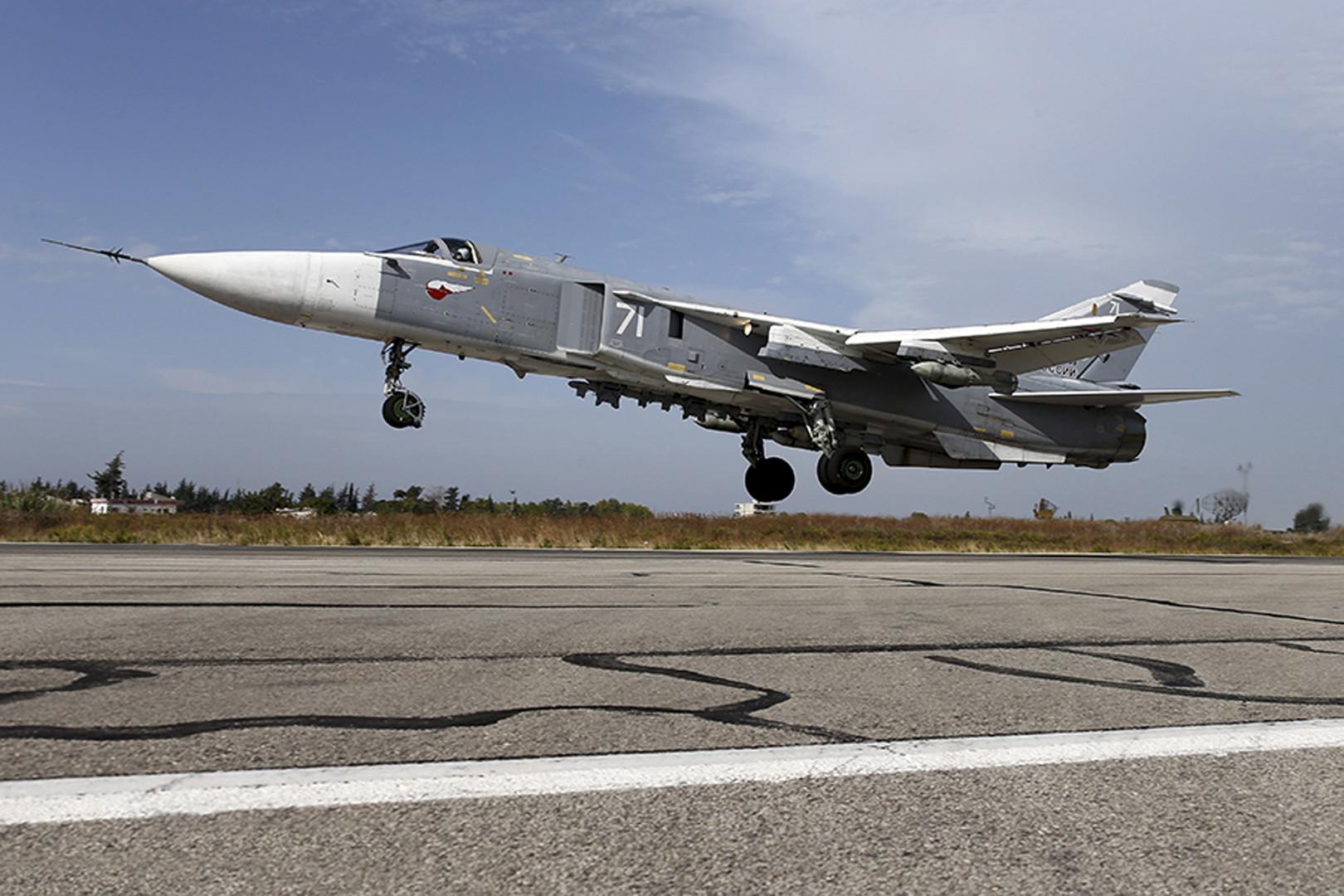 مقاتلة سو 24 الروسية
