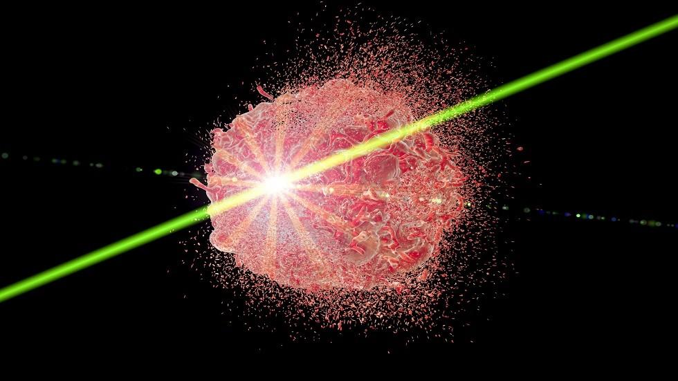ليزر جديد يمكنه استهداف وتدمير الخلايا السرطانية المنتشرة في الدم