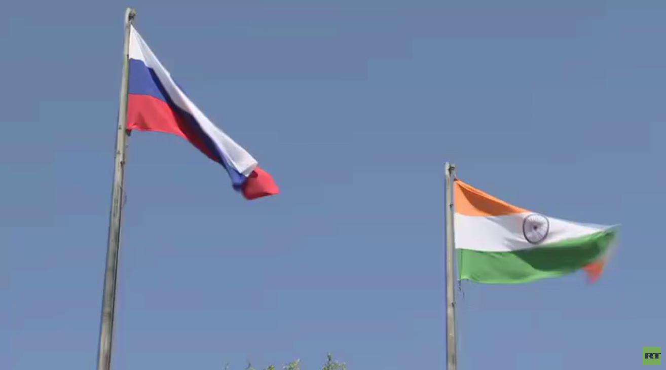 قمة روسية هندية في بيشكيك