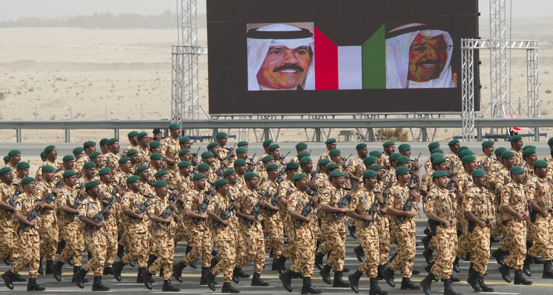 قوات كويتية