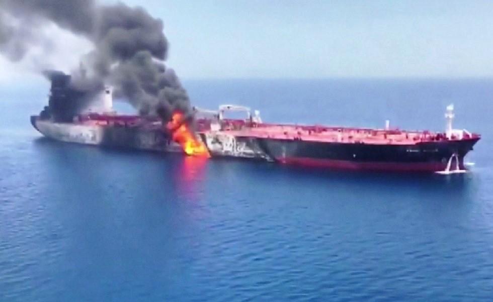 قطر تدين استهداف ناقلتي نفط في خليج عمان