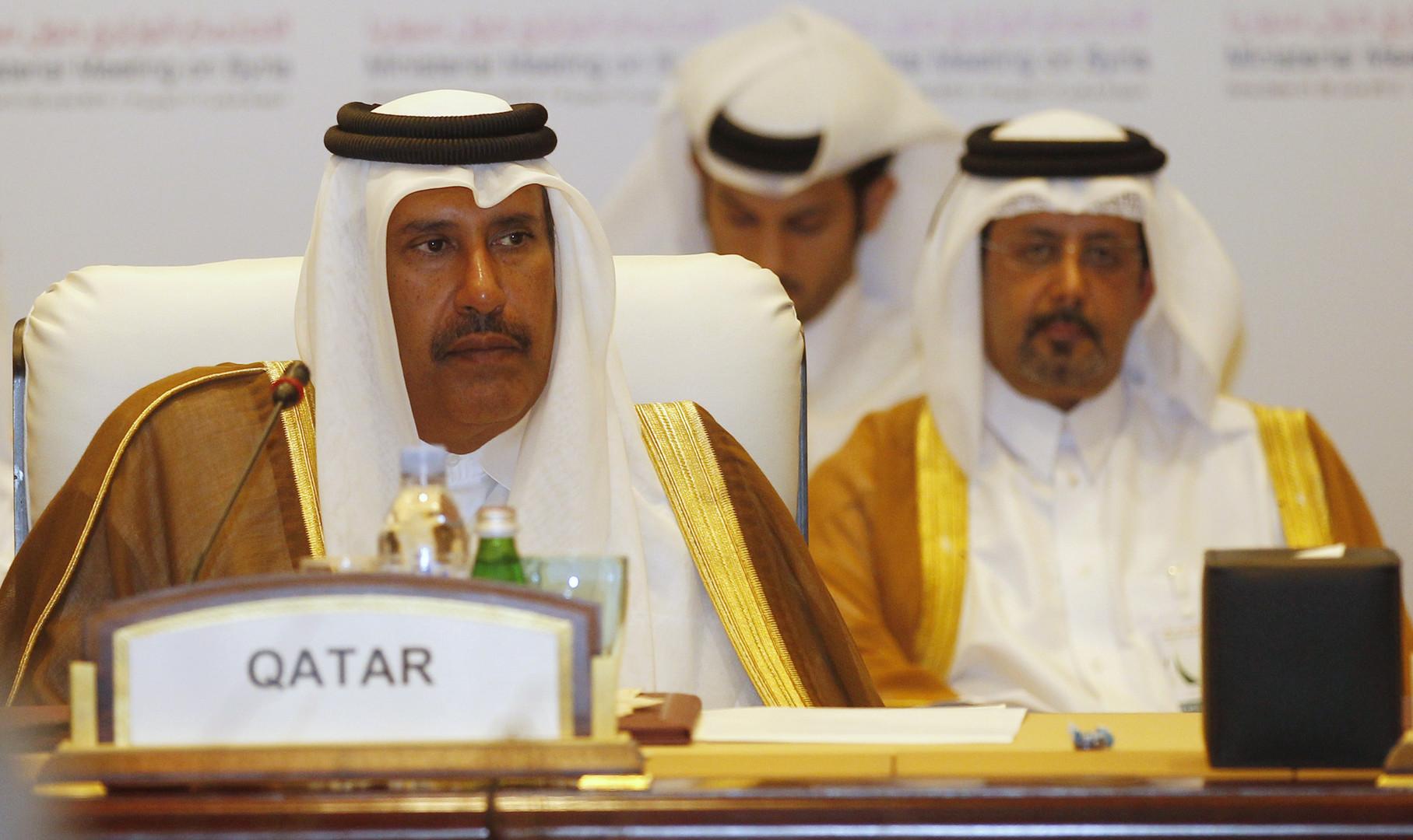 رئيس وزراء قطر السابق، حمد بن جاسم آل ثاني