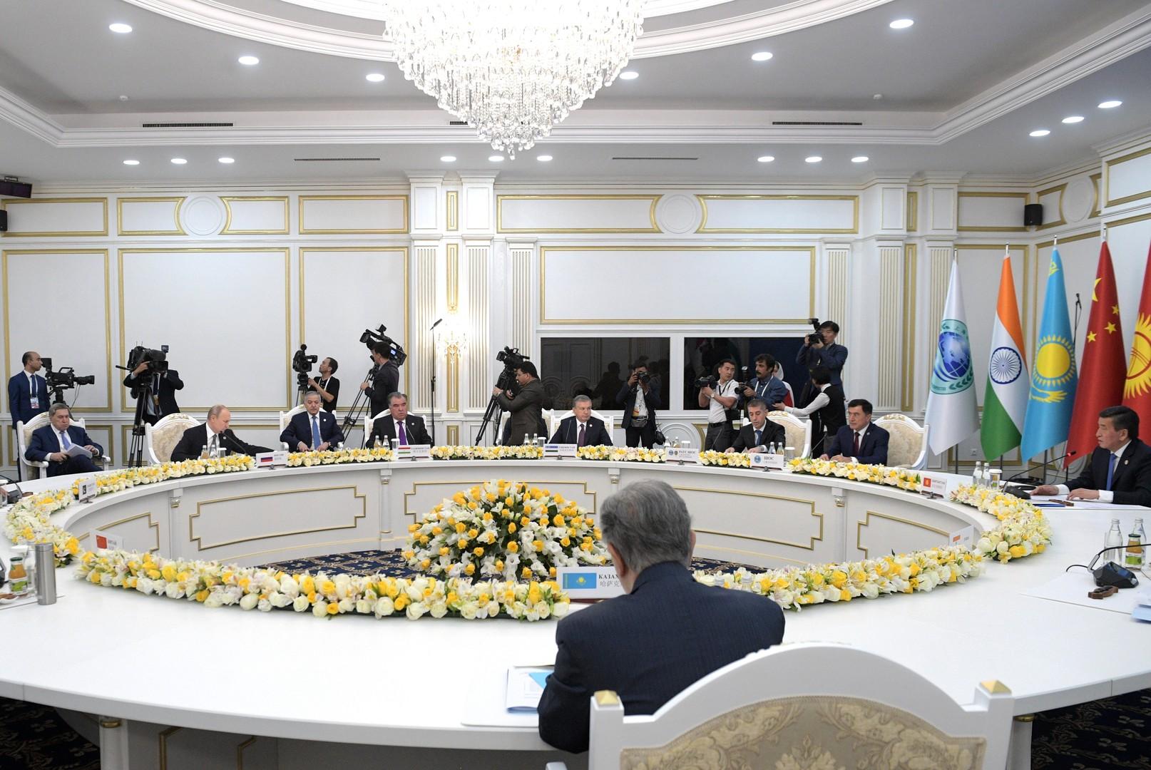 إيران وسوريا ومكافحة الإرهاب بين أهم محاور البيان الختامي لقمة منظمة شنغهاي