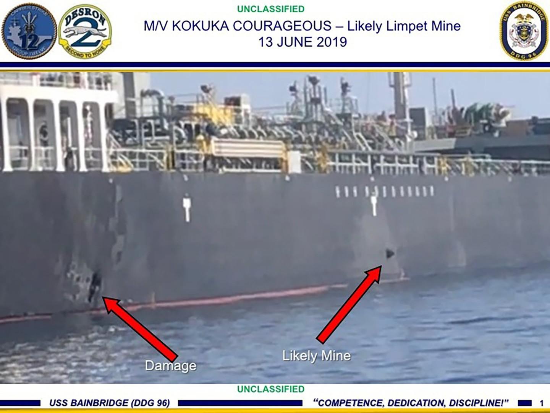 شركة يابانية صاحبة إحدى الناقلتين المستهدفتين في خليج عمان تنفي فرضية الهجوم بطوربيد