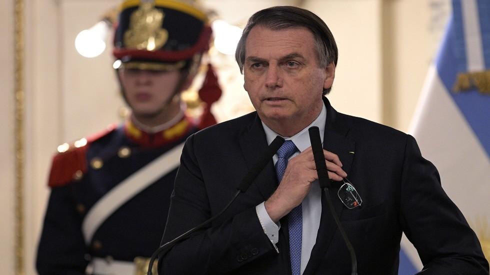 الرئيس البرازيلي يعتذر بسبب سيدة عضو في البرلمان