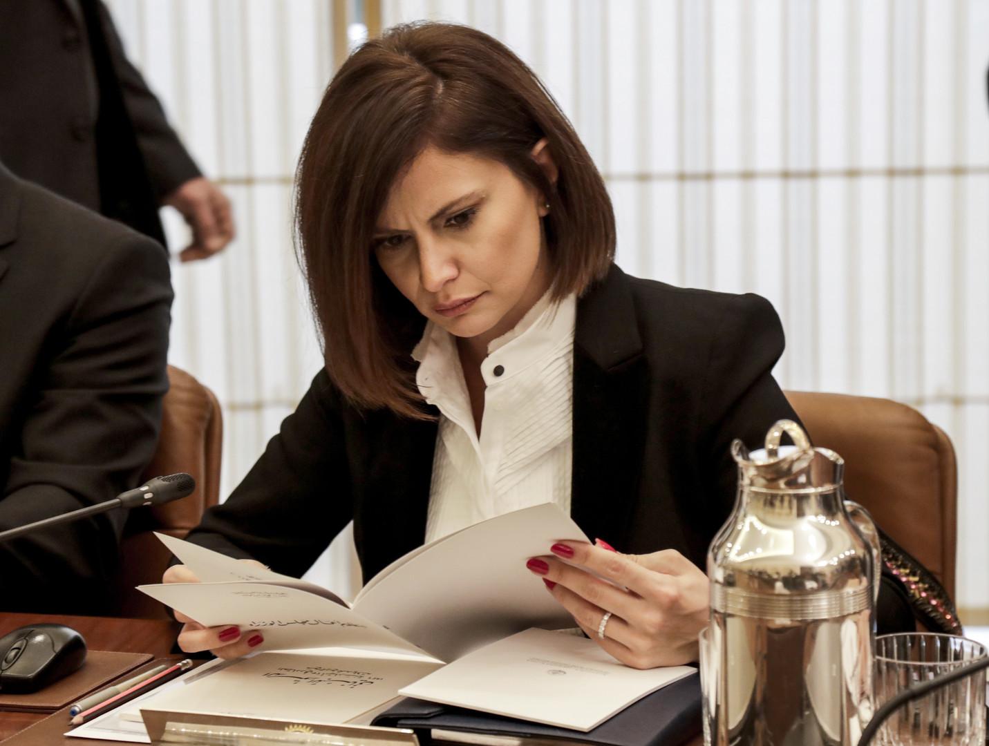 وزيرة الطاقة والمياه اللبنانية ندى البستاني- أرشيف