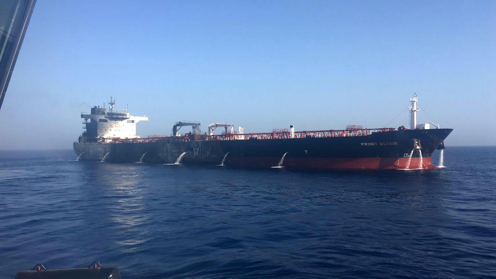 الشركة المالكة لناقلة النفط