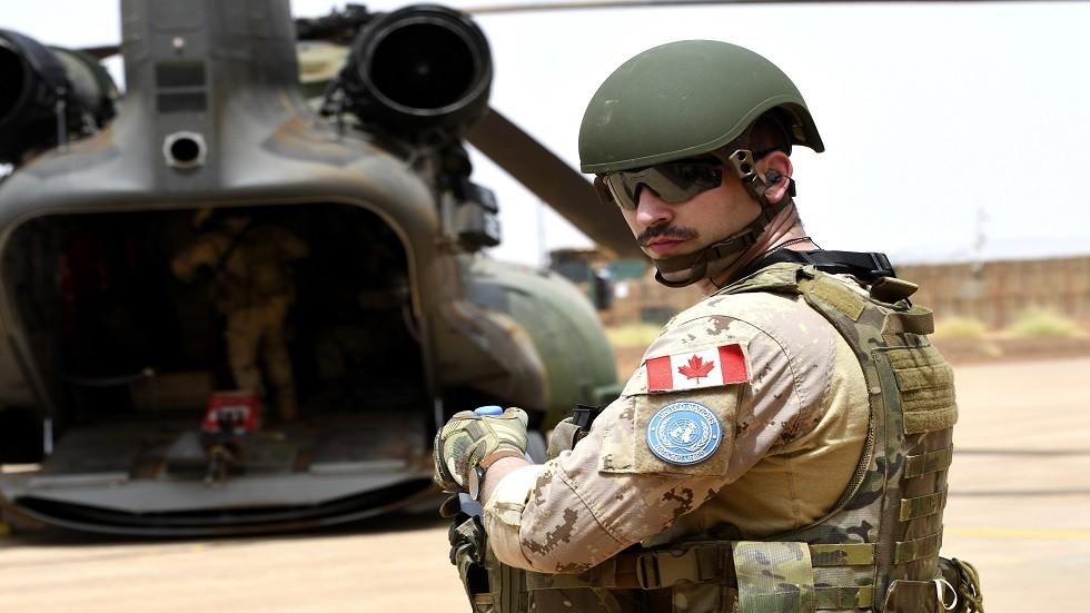 كندا تمدد عمل بعثتها العسكرية في مالي حتى نهاية أغسطس